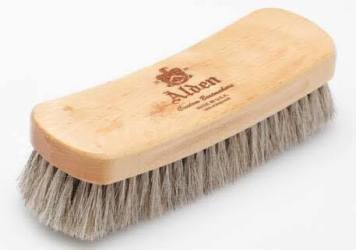 shoe brush leather